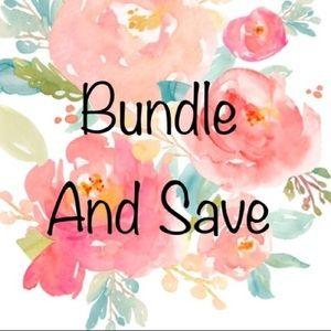 Sale on bundles!!